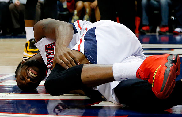 Atlanta Hawks guard DeMarre Carroll has a bone bruise; Doubtful for Game 2