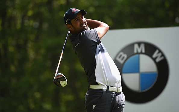 Shiv Kapur joint 13th in the BMW PGA Championship