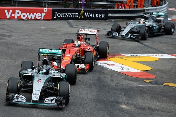 Nico Rosberg wins the Monaco GP for third year in row