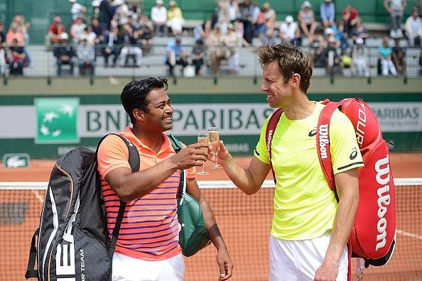 Leander Paes, Sania Mirza progress in French Open