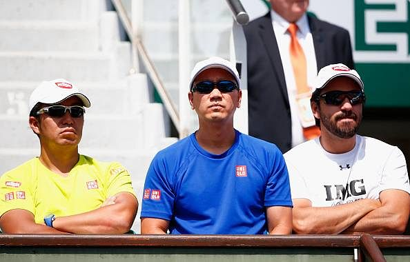 Kei Nishikori advances to French Open fourth round after Benjamin Becker withdraws