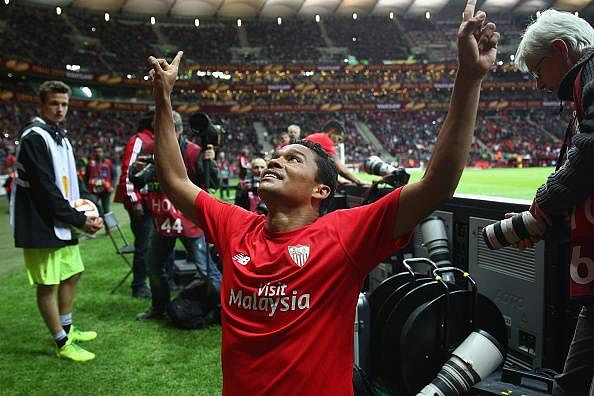 A bus driver's assistant at 20, a double Europa League winner at 28: meet Carlos Bacca