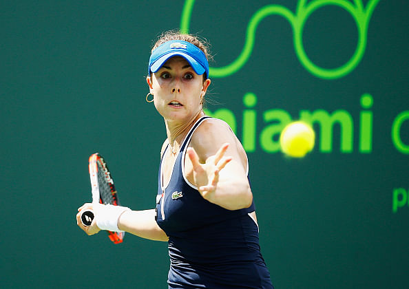 Madrid Open: Alize Cornet stuns Simona Halep
