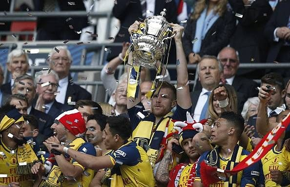 Highlights: Arsenal 4-0 Aston Villa; Gunners lift their 12th FA Cup