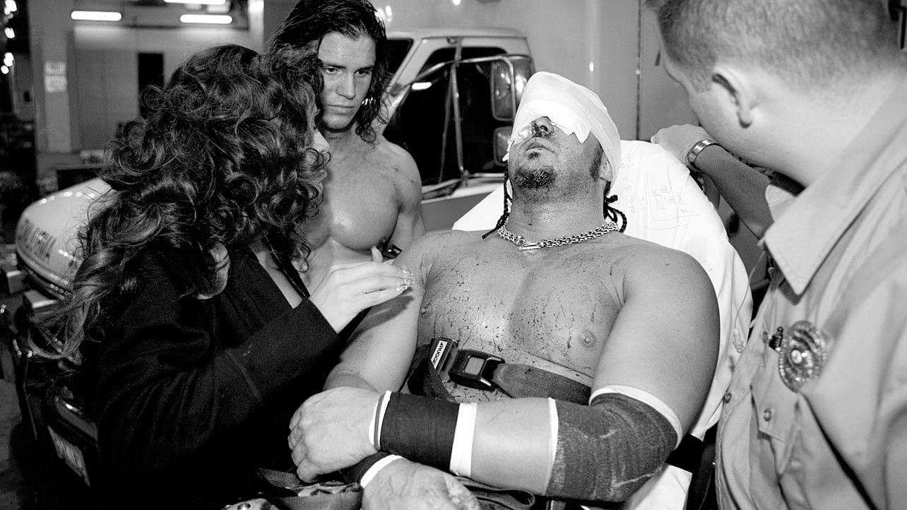 7 Superstars who were busted open the hard way