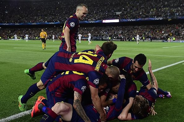 Highlights: Barcelona 3-0 Bayern Munich; Messi shines on 100th European appearance