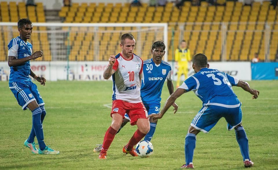 I-League: Dempo SC hold Bengaluru FC 1-1