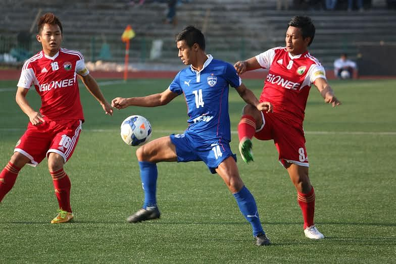 I-League: Bengaluru FC, Shillong Lajong share points as Blues pay the penalty