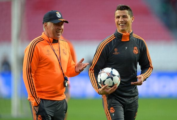Cristiano Ronaldo hopes Carlo Ancelotti stays with Real Madrid