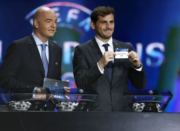 Top eight seeds for 2015/16 UEFA Champions League Pot 1 confirmed