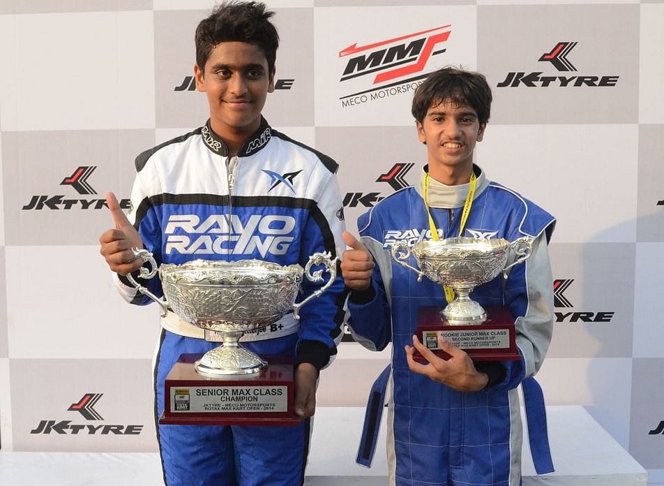 Motorsports: Nayan finishes fourth in Asian Karting