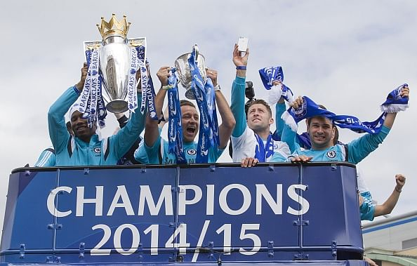 Chelsea trolled during their Premier League win open-top bus parade