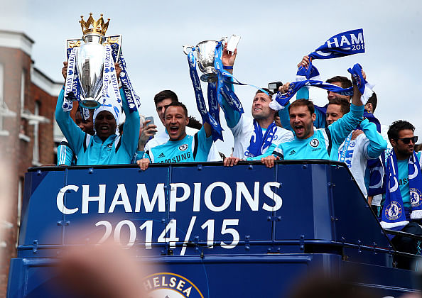 The best moments from Chelsea's victory parade