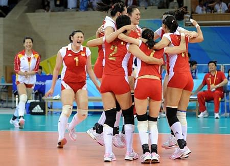 China beat India in Asian women's volleyball