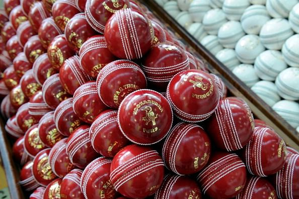 A look at the journey of a cricket ball