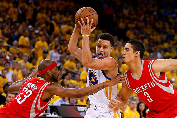 Heartbreak for Harden as Golden State inch ahead to take a 2-0  lead