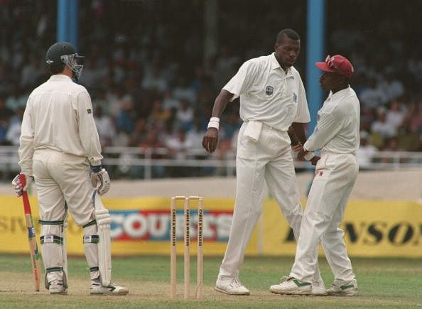 Wanted to knock Steve Waugh out: Curtly Ambrose