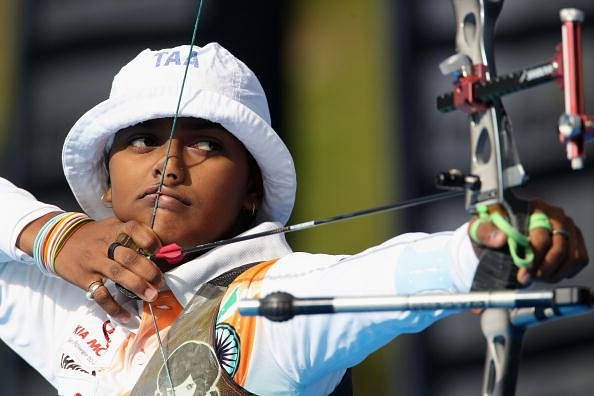 Deepika Kumari wins bronze in the Recurve event at the 2015 Archery World Cup