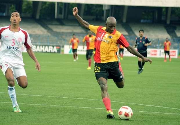 I-League: Dudu Omagbemi's brace helps East Bengal defeat Royal Wahingdoh 2-0