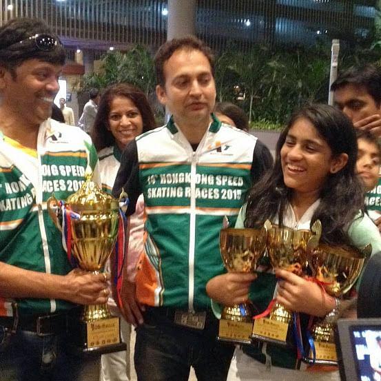 Indian speed skaters win 7 gold medals at Hong Kong International tournament