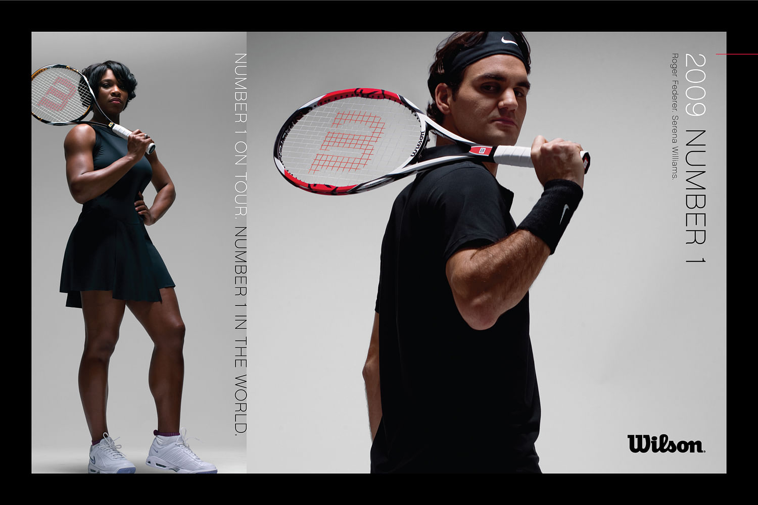 Roger Federer and Serena Williams: The tennis twins