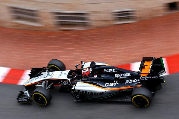 Monaco GP: Force India takes 7th, 13th pole