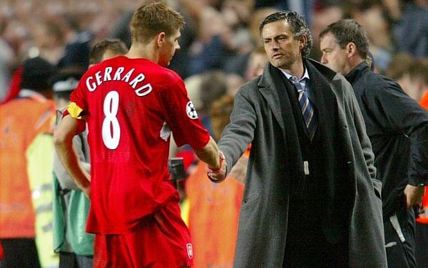 Steven Gerrard has made me a better manager: Jose Mourinho