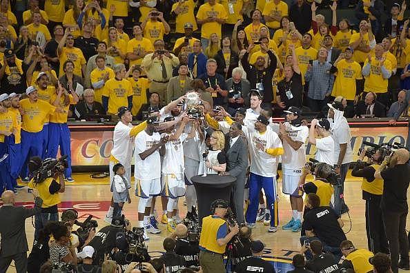 Golden State Warriors progress to the 2015 NBA Finals