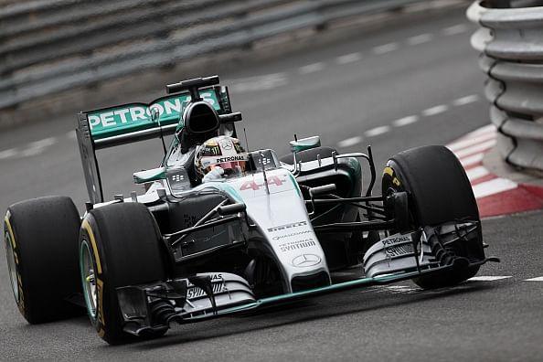 Lewis Hamilton beats teammate Nico Rosberg to take pole in Monaco GP