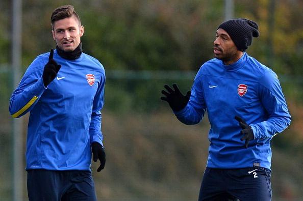 Olivier Giroud calls former Arsenal striker Thierry Henry