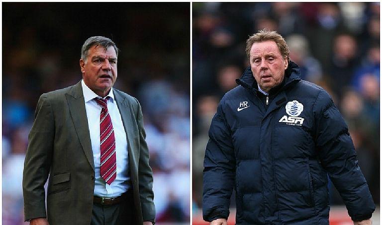 Reports: ISL franchises look at Sam Allardyce and Harry Redknapp