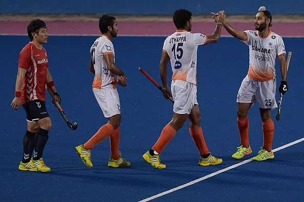 India edge Japan 2-1 in the third match of the 4-Test series; Take unassailable 2-0 lead
