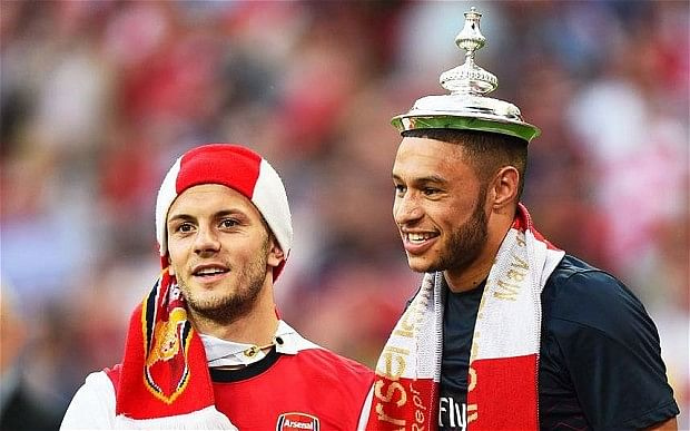 Jack Wilshere and Alex Oxlade-Chamberlain are Edu and Parlour - the new Invincibles