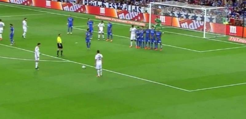 Video: James Rodriguez re-created his own FIFA goal in real life for Real Madrid