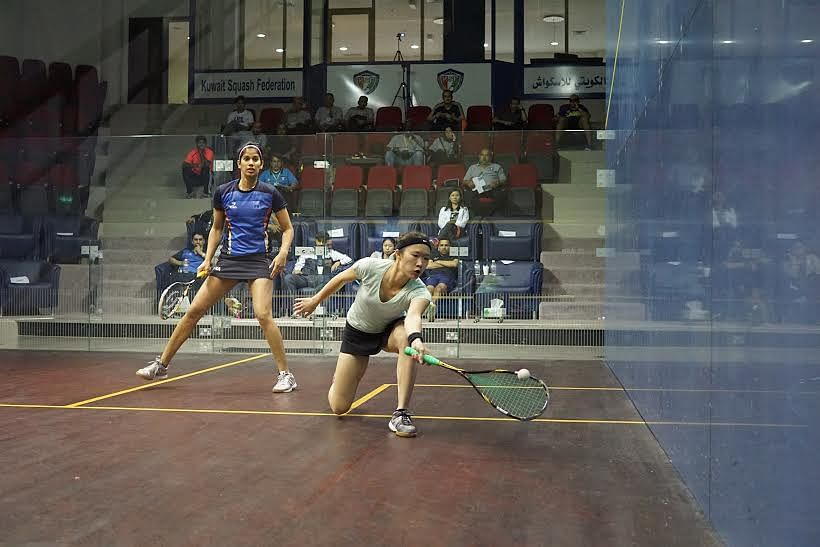 Asian Individual Squash Championships: Highlights from the quarterfinals