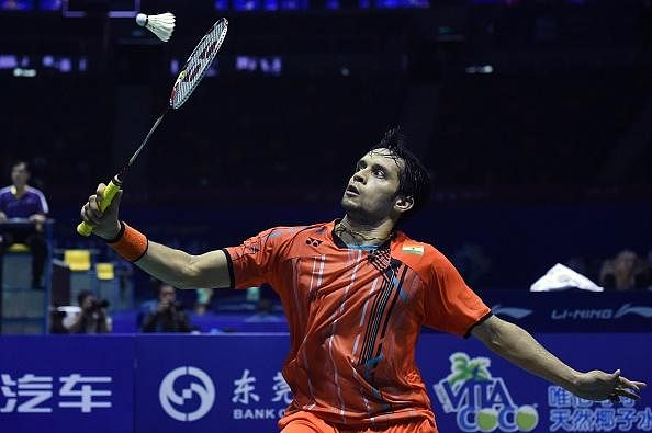 Parupalli Kashyap crashes out in the first round of the Australian Open
