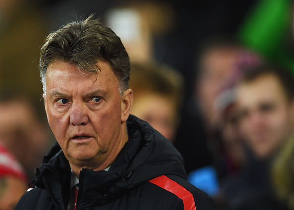 Louis van Gaal or Louis BAN Gaal? The Dutchman places a ban on delivery trucks during training sessions