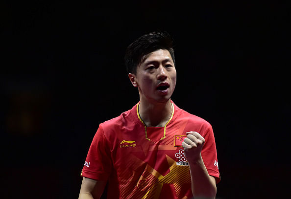 Ma Long cruises into the final of the World Table Tennis Championships