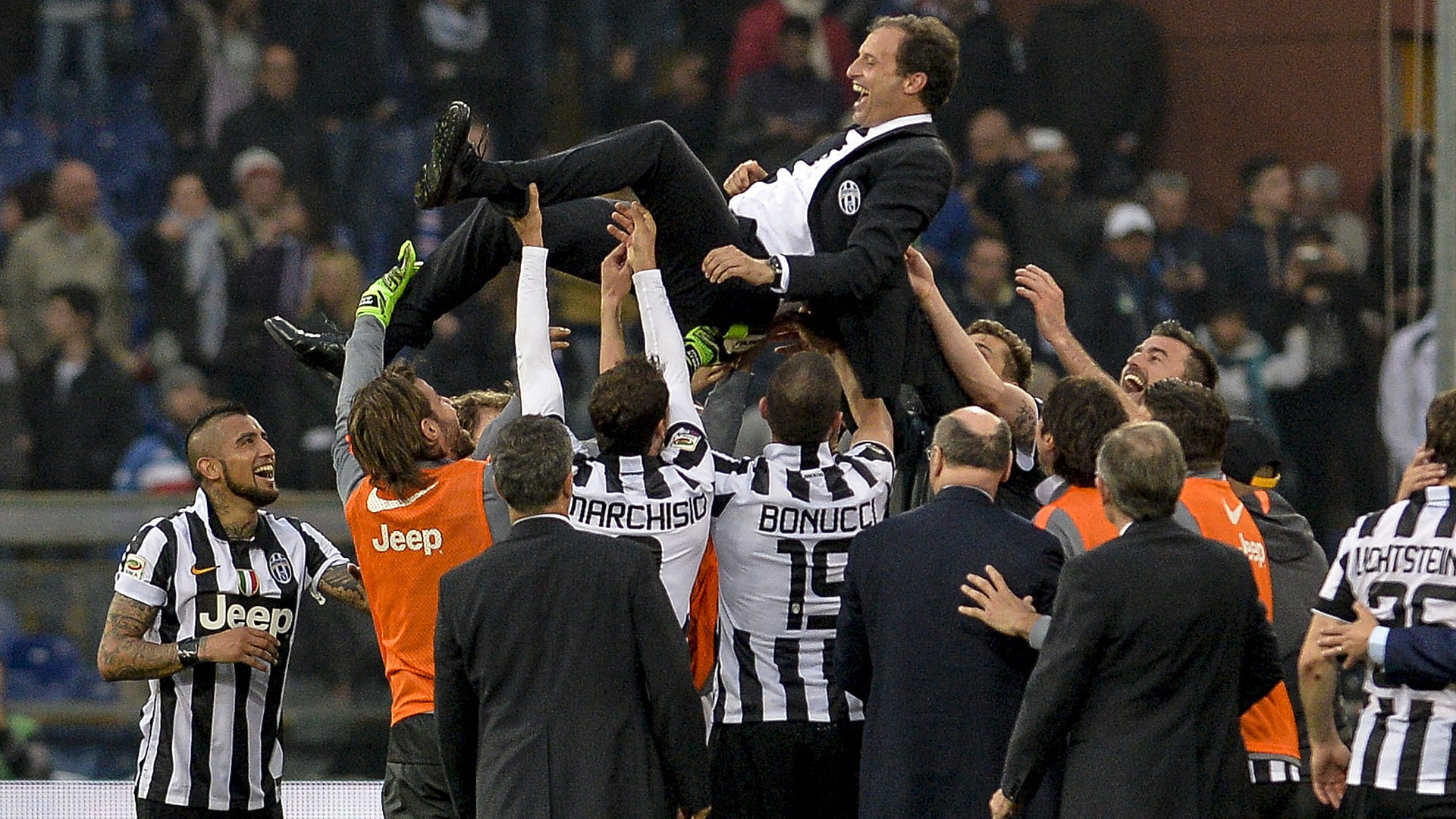How Juventus leveled up from Serie A champions to European contenders under Massimiliano Allegri