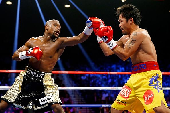 Floyd Mayweather says no to a rematch with Manny Pacquiao