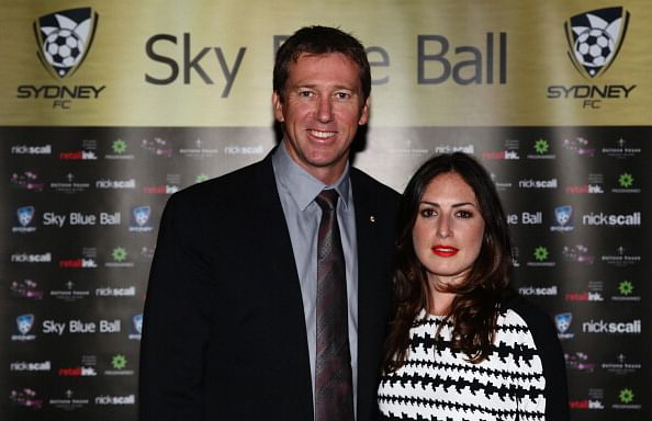 Glenn McGrath's second wife expecting their first child