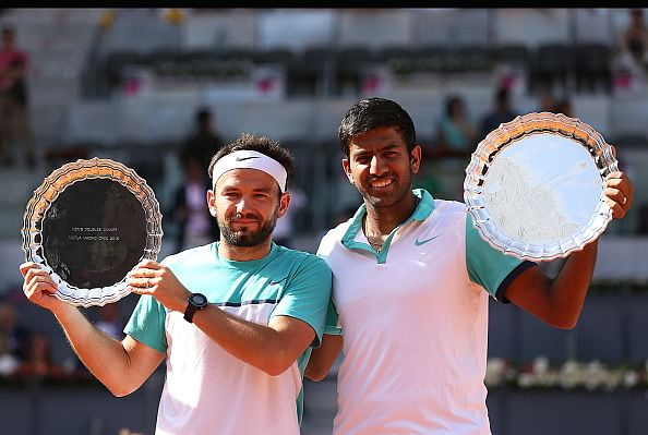 Rohan Bopanna is now India's highest ranked doubles player