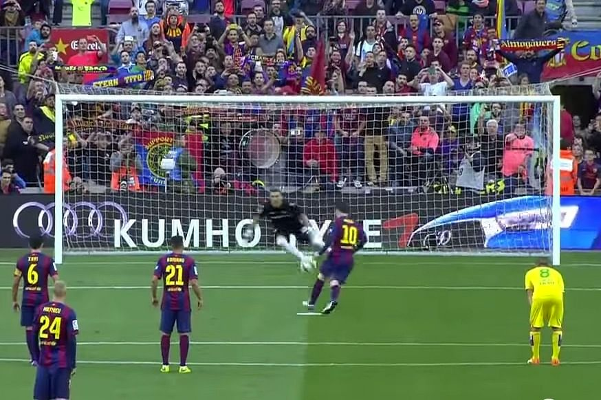 Lionel Messi's panenka against Getafe best ever, says shot ...