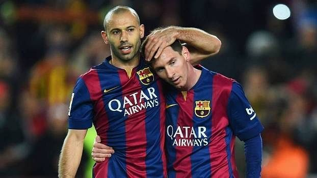 Javier Mascherano: Trading places with Messi is something I can't imagine doing