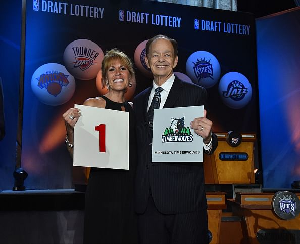 Minnesota Timberwolves win Draft Lottery, to pick first in 2015 NBA Draft