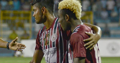 I-League: Mohun Bagan return to top of the table with 2-0 win over Royal Wahingdoh FC