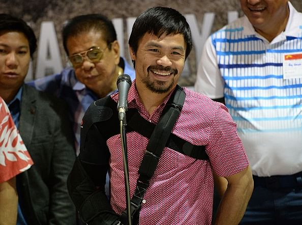 Retirement on hold for shoulder injury: Manny Pacquiao