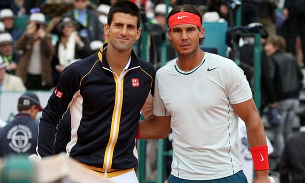 Photo of Rafael Nadal & his friend  Novak Đoković