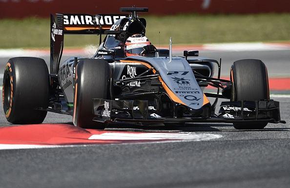 Force India struggle in Spanish GP qualifying