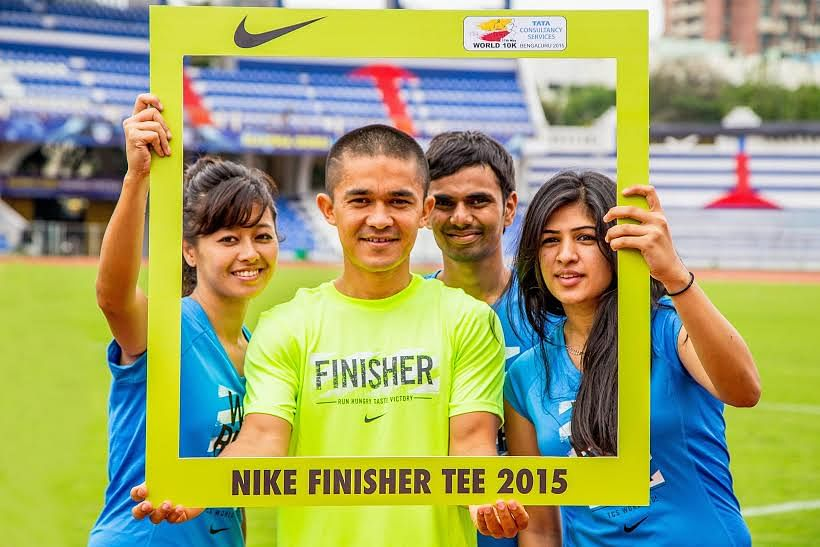 Nike launches the finisher tee 2015